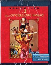 I TRE DELL'OPERAZIONE DRAGO (1973) Bruce Lee - BLU RAY DISC NUOVO!