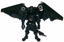 "Revenge Of The Sith 8"" Darth Vader With Flight Wings Action Figure Hasbro"