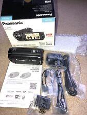 PANASONIC HC-W580EB-K CAMCORDER WITH FREE P&P