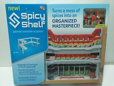 Spicy Shelf Universal Organizer for Cabinets/Pantry NEW IN BOX