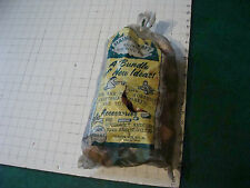 vintage Original SEALED toy: MAINE-CRAFT wooden parts of toys etc, FORSTER MFG c