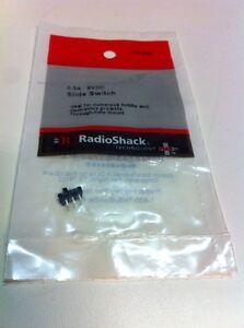 0.3A • 6VDC Slide Switch #275-0007 By Radioshack