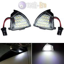 Direct Fit White LED Under Side Mirror Puddle Lights For VW EOS GTi Jetta Passat
