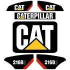 CAT 216B2 226B2 232B2 236B2 242B2 252b2 247B2 257B2 Repro Kit Decals Stickers