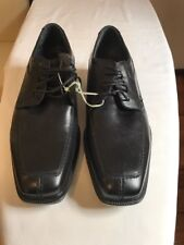 Mens Sz 9.5 Atomic Julius Marlow BlackLeather FormalShoes OrthoFriendly RAND NEW