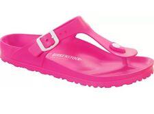 GIZEH NEON PINK EU39 L8 M6 Regular Birkenstock EVA Rubber Sandals Light Vegan