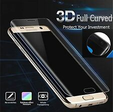 Transparent Full Curved Tempered Glass ScreenProtector For Samsung Galaxy S6Edge