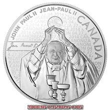 CANADA $10 FINE SILVER COIN - POPE JOHN PAUL II - 2014