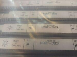 Lot x 50 HDSP-5523 LED 7-SEG 14.2MM 2DIG CC HER RHD