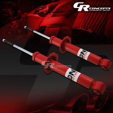 PAIR RED FRONT SHOCKS ABSORBER STRUT FOR 2000 NISSAN MAXIMA 00-01 INFINITI I30