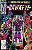 Hawkeye Comic 4 Bronze Age First Print 1983 Gruenwald Rosen Bulanadi Marvel