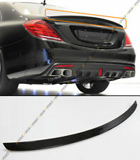 FOR 2014-2018 MERCEDES BENZ W222 S CLASS B STYLE CARBON FIBER TRUNK SPOILER WING