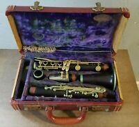 Vintage Noblet Paris Wooden Clarinet in LeBlanc Hard Case