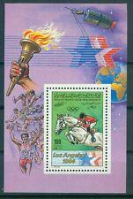 Libyen Block 69 A  , ** , Olympische Spiele 1984