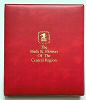 Fleetwood The Birds & Flowers Of The Central Region FDC Collection in Album 1982