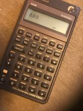 50th Anniversary HP Hewlett Packard 14B Business Calculator
