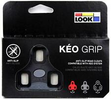 Genuine LOOK KEO GRIP Road Pedal Cleats 0° fits Classic Blade Carbon Max BLACK
