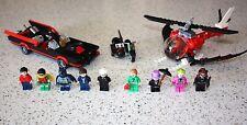Lego Batman Minifigs Batmobile Batcopter Batbike From Set 76052