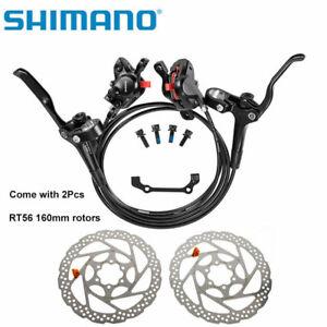 SHIMANO MT200 Bike Brake Hydraulic Disc Brakes Oil Set With RT56 Rotors160/180mm