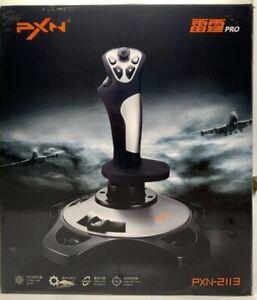 PXN Thunder Pro PXN-2113 Flight Vibration Joystick Controller/12 button/usb wire