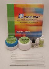 Prime Dent Dental Chemical Self Cure Composite Kit 15g 15g Amp Bonding Free Ship