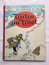 TINTIN EN EL TÍBET EO FRANCESA B29 1960 HERGÉ - BD CASTERMAN