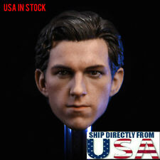 1/6 Tom Holland Head Sculpt For Spider-Man The Avengers Hot Toys PHICEN U.S.A.