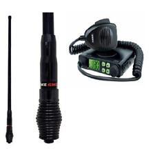UNIDEN UH5000 80 CHANNEL UHF RADIO + GME AE4705B 6.6DBI BLACK HEAVY DUTY ANTENNA