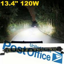 Waterproof 13.4'' 12000LM 6D Spot Beam Car SUV Off road Lamps 120W Work Light #
