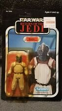 Star Wars Klaatu Carded Sealed Figure, 77 Back non punched card ROTJ