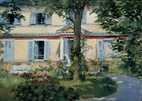 Edouard Manet: The House at Rueil. Fine Art Print/Poster
