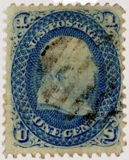 USA-1868-Scott-86-Used-VF-PSAG Cert-Cat-475.00