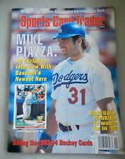 MIKE PIAZZA  On Cover Sports Card Trader Magazine  April 1994 NO LABELS