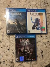 Final Fantasy: Lot of 3 Ps4 Games - Ffxv, Ffxii, Ff Dissidia Nt - New/ Used