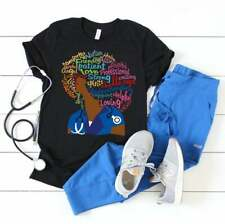 NEW! Afro Nurse RN LPN African American Nurse Black Nurses T-shirts Any Color