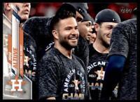 2020 Update Base Variation SP #U-277 Jose Altuve - Houston Astros