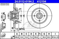 Bremsscheibe (2 Stück) - ATE 24.0112-0194.2