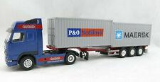 Conrad 46124/01 VOLVO FH16 4x2 truck 3axle Nooteboom Container Flexitraiter 1:50