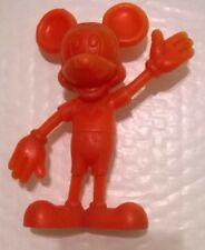New listing 1971 Vintage Marx Walt Disney Mickey Mouse Plastic Toy Hard Plastic Figure