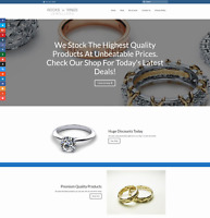 RINGS Website Business Earn £124 A SALE|FREE Domain|FREE Hosting|FREE Traffic