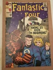 Fantastic Four #45/Silver Age Marvel Comic Book/1st Inhumans/