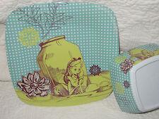 New listing Rare Disney Alice in Wonderland melamine plate and bowl Zak Designs Nwt