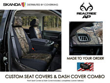 Coverking Realtree AP Camo Front Seat Covers & Dash Cover for Chevy Silverado