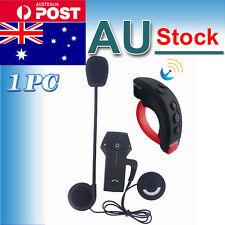 BT 1000M Motorcycle Remote Control Helmet Bluetooth Intercom Interphone Headset