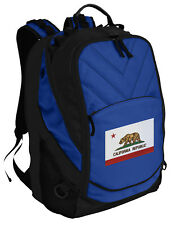 California Flag Backpack Laptop Bags Computer Backpacks TOP QUALITY!
