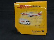 SCHUCO 3557382, BOEING 757 & MERCEDES-BENZ SPRINTER, DHL 2 PIECE SET
