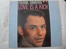Frank Sinatra Love Is a Kick Vinilo LP 1958 Columbia Records Mono Bim Bam Baby