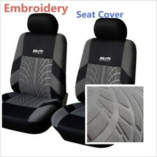 Auto Full Five Seat Covers Washable Embroidery Foam Comfortable Car Accessories