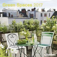 CALENDRIER 2017 - GREEN SPACES - 30 x 30 cm
