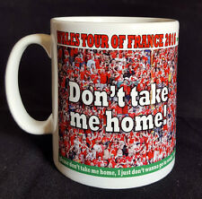 Wales Football Mug -  Welsh fans - Don't take me home words